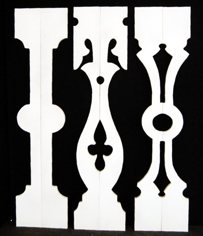 Porch Sawn Baluster Balusters piner