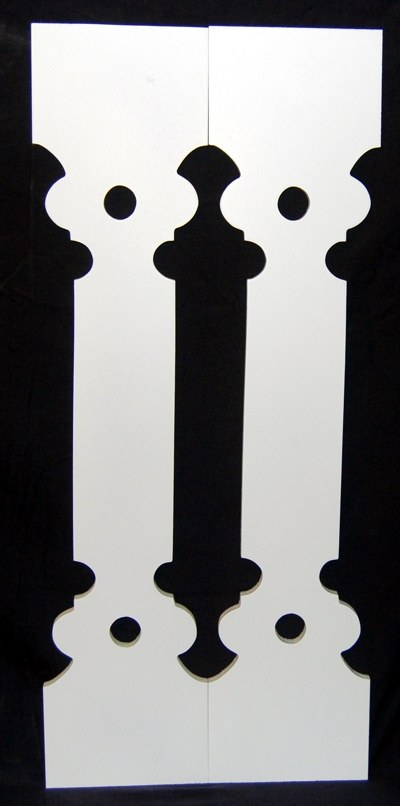 Porch Sawn Baluster Balusters Victorian