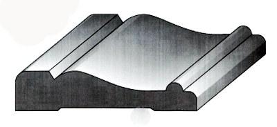 Victorian molding casing trim