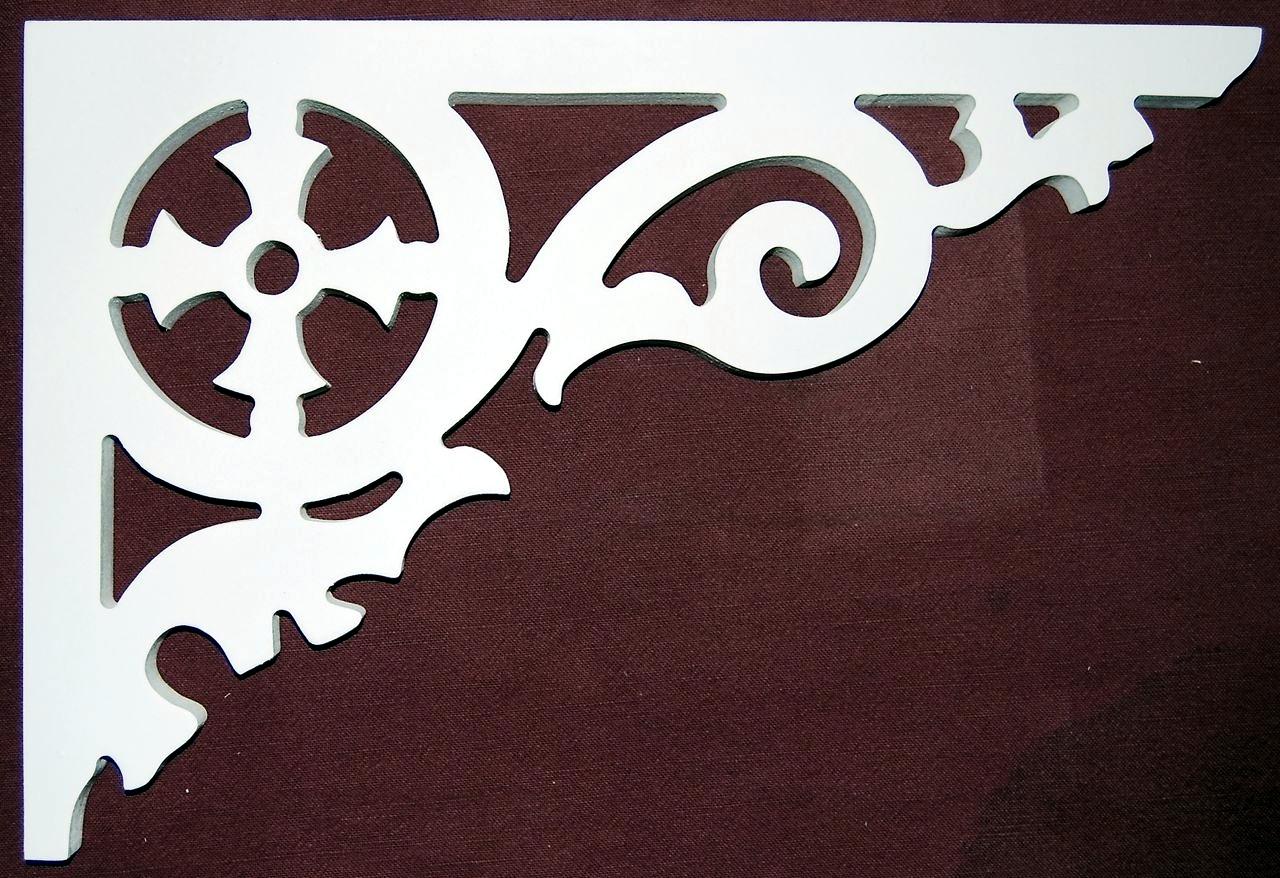 Brackets- Victorian exterior porch bracket