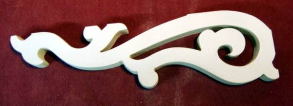 Item # B-17  Victorian Porch Bracket  The Victorian Woodshop  http://victorianwoodshop.com