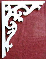 Item # B-25  Victorian Porch Bracket  The Victorian Woodshop  http://victorianwoodshop.com
