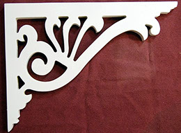 Item # B-35  Victorian Porch Bracket  The Victorian Woodshop  http://victorianwoodshop.com