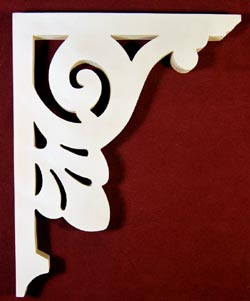 Item # B-62  Victorian Porch Bracket  The Victorian Woodshop  http://victorianwoodshop.com