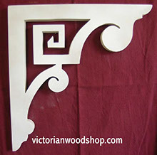 Item # B-6  Victorian Porch Bracket  The Victorian Woodshop  http://victorianwoodshop.com