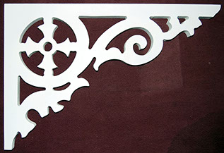 Item # B-78  Victorian Porch Bracket  The Victorian Woodshop  http://victorianwoodshop.com