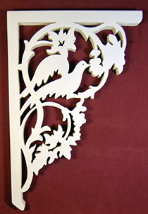 Item # Bird Bracket  Victorian Porch Bracket  The Victorian Woodshop  http://victorianwoodshop.com