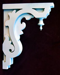 Item # Artistic Corbel 3 or 4 inch thick options  Victorian Porch Bracket  The Victorian Woodshop  http://victorianwoodshop.com