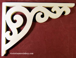 Item # B-95  Victorian Porch Bracket  The Victorian Woodshop  http://victorianwoodshop.com