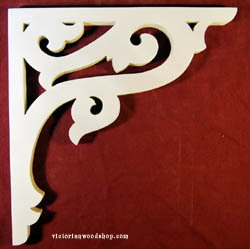 Item # B-99  Victorian Porch Bracket  The Victorian Woodshop  http://victorianwoodshop.com