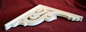 Item # B-99 framed  Victorian Porch Bracket  The Victorian Woodshop  http://victorianwoodshop.com