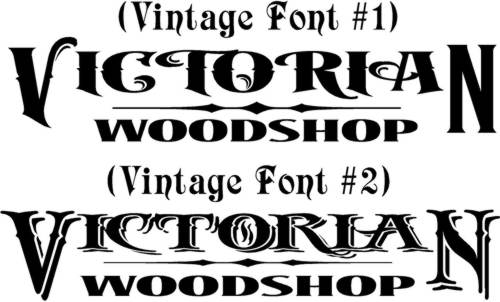 victorian lettering fonts copy of algerian font project by willian