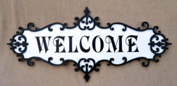 Victorian Fretwork signboard SB-81