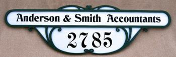 Victorian Fretwork signboard SB-83
