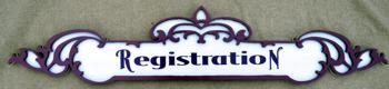 Victorian Fretwork signboard SB-84