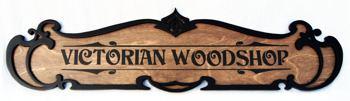 Victorian Fretwork signboard SB-85